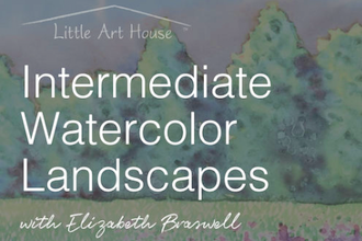 Intermediate Watercolor Landscapes