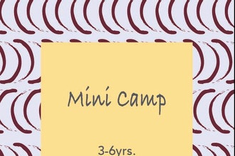 Mini-Camp (Ages 3-6yrs)