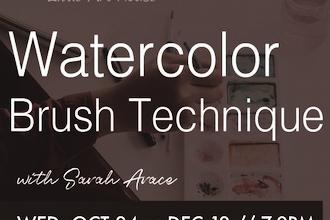 Watercolor Brush Techniques