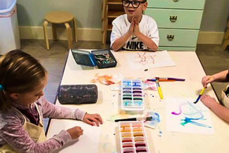Fall Break Art Camps (K-2nd Grade)