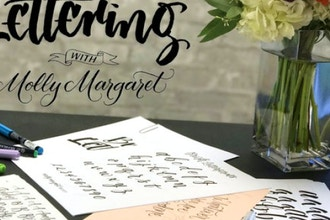 Brush Lettering with Molly Margaret