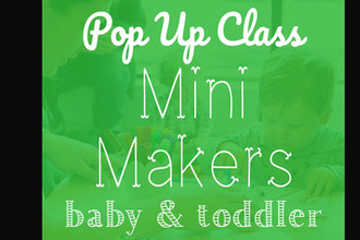 Thanksgiving Pop Up: Mini Makers