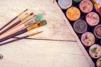 Paint + Canvas Photo