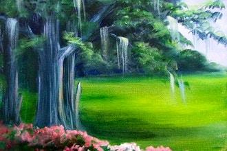 Acrylic Painting - Landscape