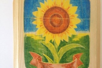 MAKE: Sunflower Art