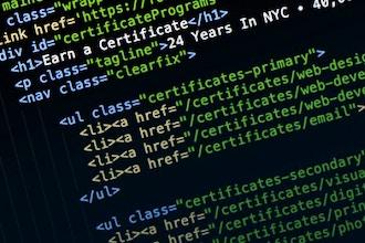 Web Design Certificate