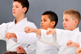 Karate: Beginner Children (Ages 8-14)