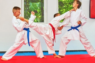 Karate: Intermediate and Above Children (Ages 8-14)