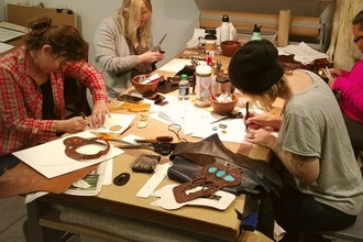 Leather & Stones Jewelry Workshop