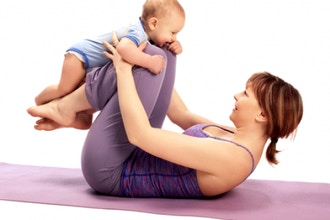 Mom and Baby Yoga (newborn to new walkers)
