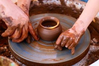 2 Week Kids Summer Pottery Course