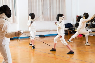 Kids Intermediate Fencing