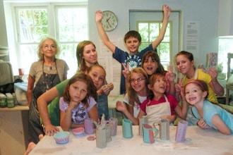 Wheel/Hand Ceramic Day Camp (Ages 3-9)