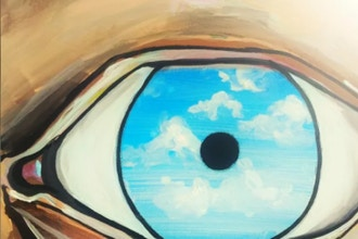 Famous Artist Series: Magritte Eyes
