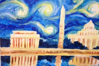 DC Series: DC Starry Night