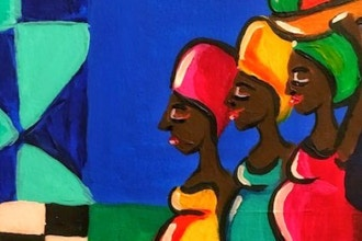 Famous Artist Series: Paint like Lois Mailou Jones