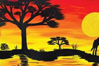 Paint & Sip: African Sunset II