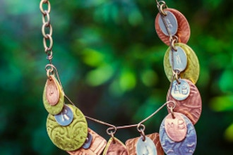 Stamped and Textured Jewelry Workshop