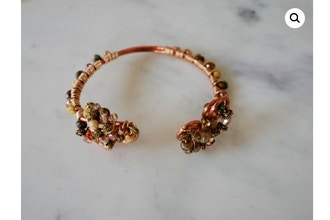 Wired to Copper Bracelet