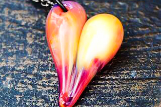 1-Hour Valentine's Heart Pendant Making
