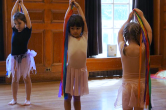 Body as a Paintbrush Dance Camp