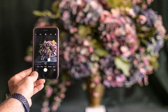 Floral Photography & Content Marketing