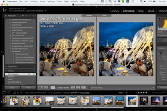 Editing Photos in Adobe Lightroom