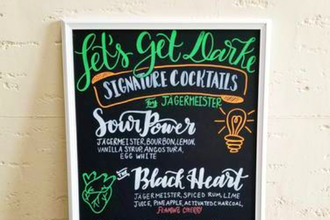 Chalkboard Art Workshop