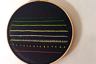 Introduction to Embroidery: Making a Sampler