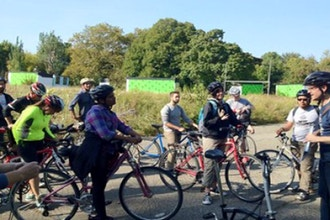 Urban Ecology Bike Tour with Turnstile Tours