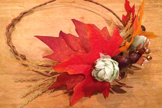 Fall Harvest Crowns