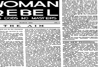 The Woman Rebel: Revolutionary Politics, Rollicking