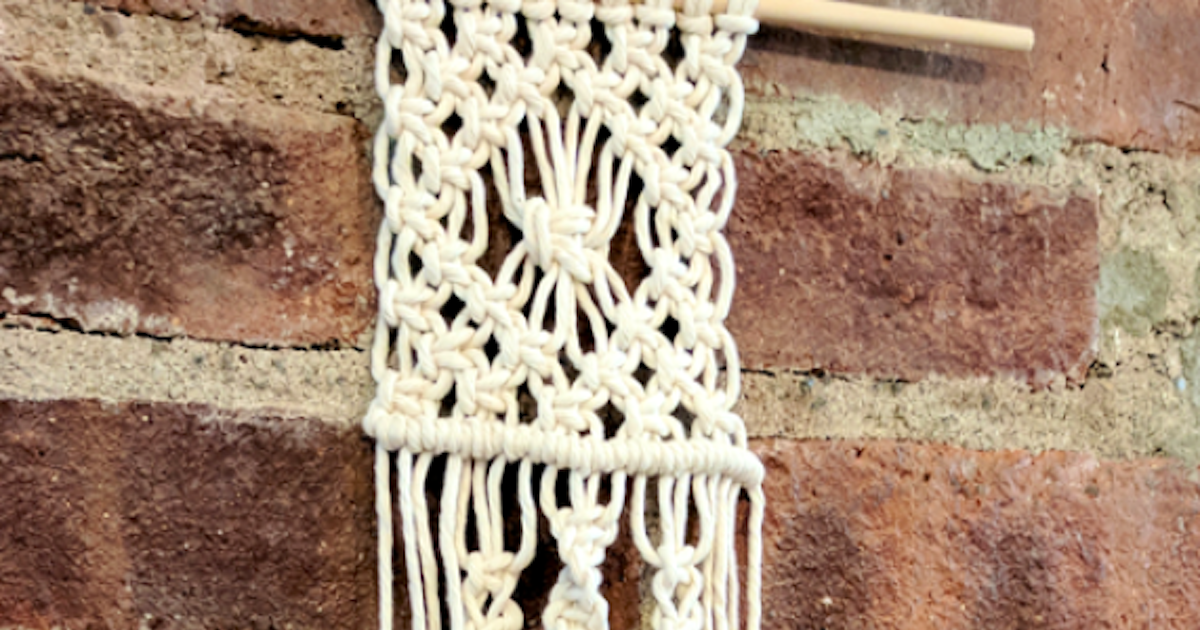 Macrame for beginners crafts classes new york for Arts and crafts classes nyc