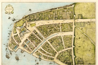New Amsterdam Walking Tour