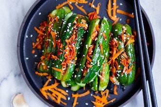 Kimchi-Making with Seasonal Vegetables
