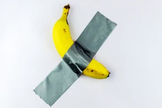 The Banana on the Wall