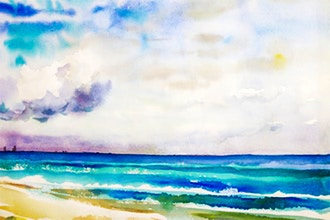 Painting Seascapes in Watercolor