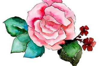 Sumi-e: Rose