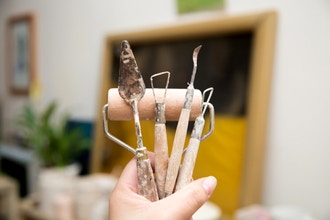 Wire Sculpting with Air Dry Clay
