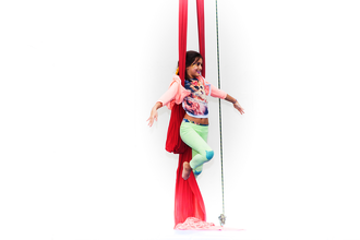 Kids & Adult: Aerial Silks Supervised Practice