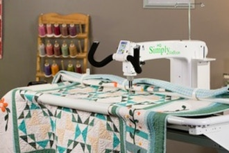 Getting Started: Handi Quilter Simply Sixteen Machine