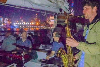 Live Jazz City Lights Sail in NY Harbor