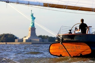 Day Sail to Statue of Liberty on America 2.0