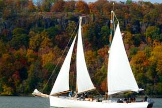 Fall Foliage Schooner Sail