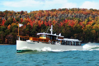 NYC to Poughkeepsie Hudson Valley Brunch Cruise