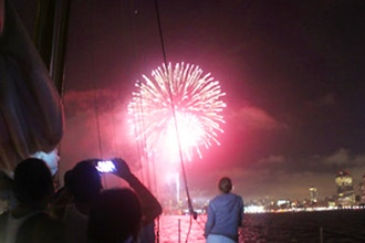 New Year's Eve Fireworks Cruise on Manhattan II