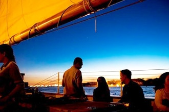 Sunset Sail on America 2.0