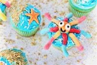 Under the Sea Cupcakes Workshop (Ages 5-8 w/ Caregiver)