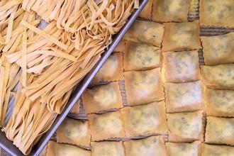 Handmade Pasta (Couples / BYOB) - Pasta Making Classes New York    CourseHorse - Taste Buds Kitchen
