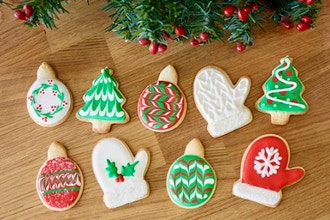 Holiday Cookie Decorating Party (Virtual Cooking)